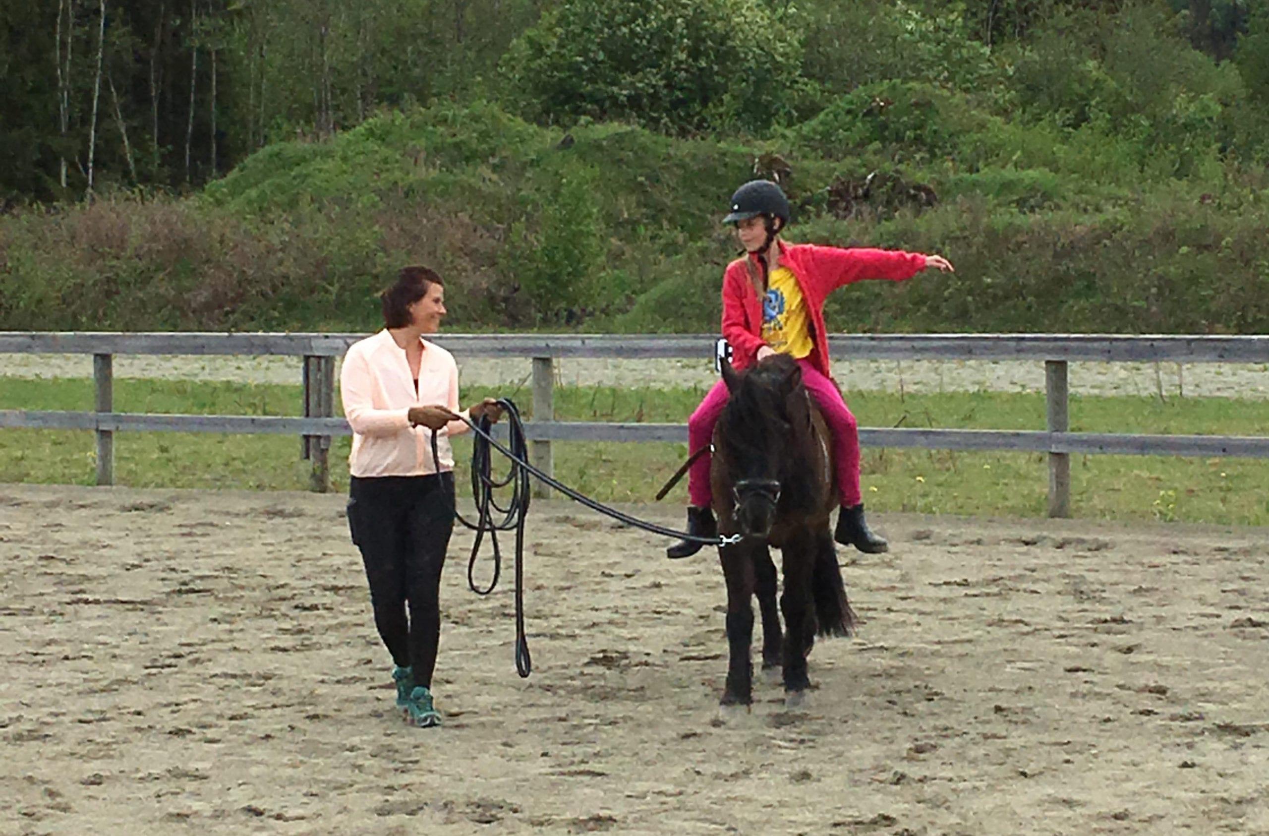 Rideundervisning med Therese Heramb